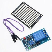 Buy Rain water sensor module + DC 5V Relay Control Module Rain Sensor Water Raindrops Detection Module Arduino robot kit 2PCS for $11.40 in AliExpress store