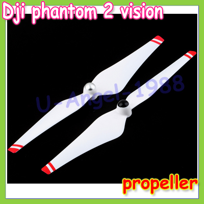 4pcs/lot 2014 New DJI Phantom 2 Vision Quadcopter Self-locking CW CCW Propeller Main Blade +free shipping