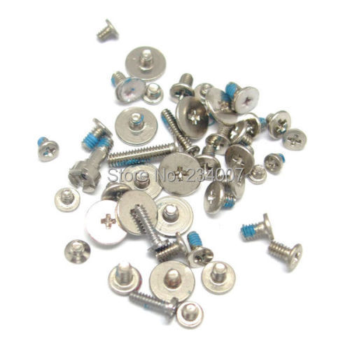 50sets/lot Original new full screw sets for Apple Iphone 4G(China (Mainland))