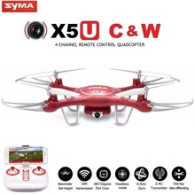 SYMA X5UW & X5UC FPV RC Drone With 720P WiFi 2MP HD Camera 2.4G 4CH 6Axis Quadcopter Helicopter Height Hold One Key Land Dron(China (Mainland))