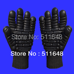 0099 CE EN388 230mm black Shockproof gloves,skidproof,wear-resistant,anti-puncture safety gloves free shipping