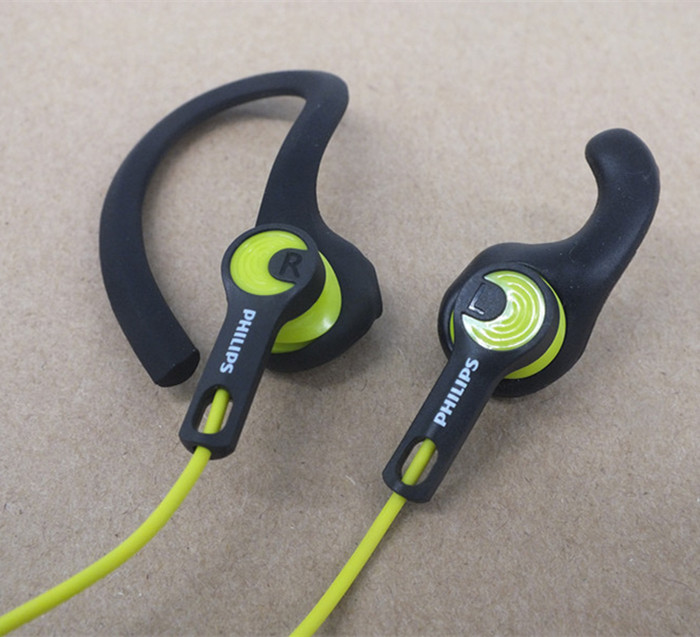 Fashion Professional sports headphones 3.5mm Headset Wired Ear Bass earphone stereo running Earbud Sweat proof Waterproof(China (Mainland))