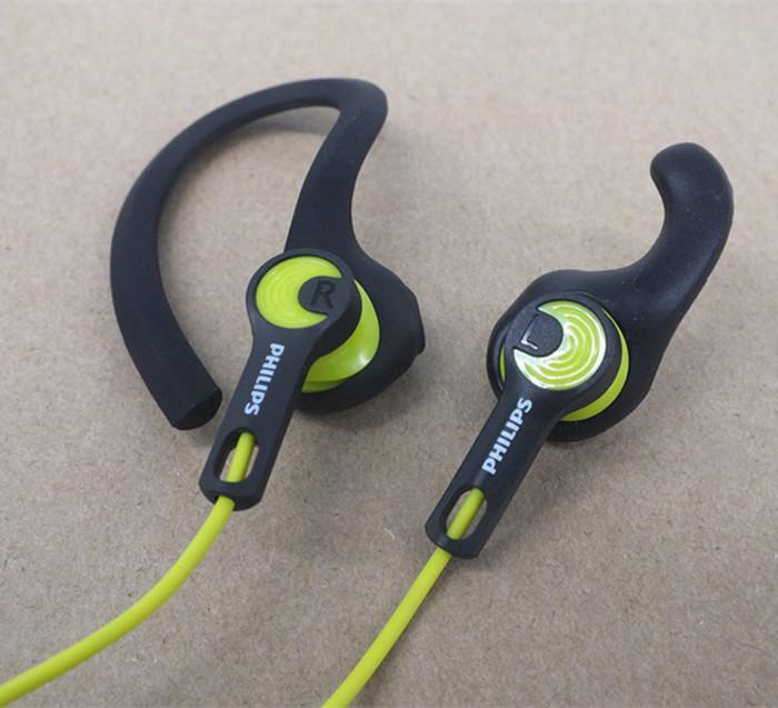 Fashion Professional sports headphones 3.5mm Headset Wired Ear Bass earphone stereo running Earbud Sweat proof Waterproof(China (Mainland))