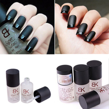 15ML Magic Super Matte Dull Effect Changing Transfiguration Nail Polish Top Coat Frosted Surface Oil Nail Art(China (Mainland))