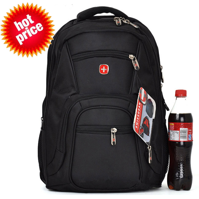 Swiss Gear Laptop Backpack Double-shoulder School Bag Laptop Bag Men Notebook Bag Women Travel Backpack Casual Hiking Backpack(China (Mainland))