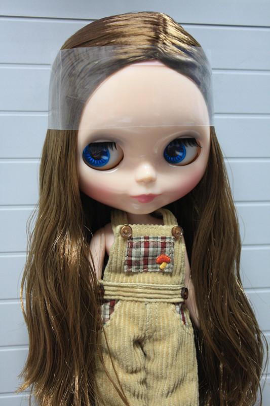 Nude cute Blyth doll DIY brown long hair fashion dolls gift for girls<br><br>Aliexpress