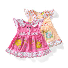 newborn summer baby girls dress infant princess dress baby flower girl dresses clothing(China (Mainland))