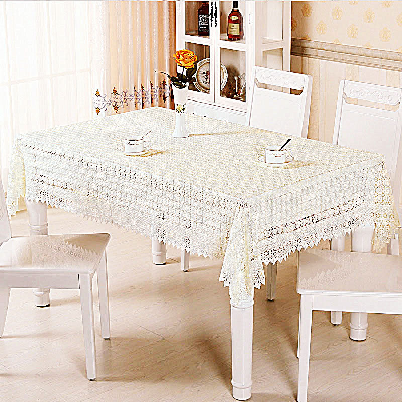 Di Yun high-grade openwork embroidery table cloth cover bedside table cloth with a towel can be customized on behalf of(China (Mainland))