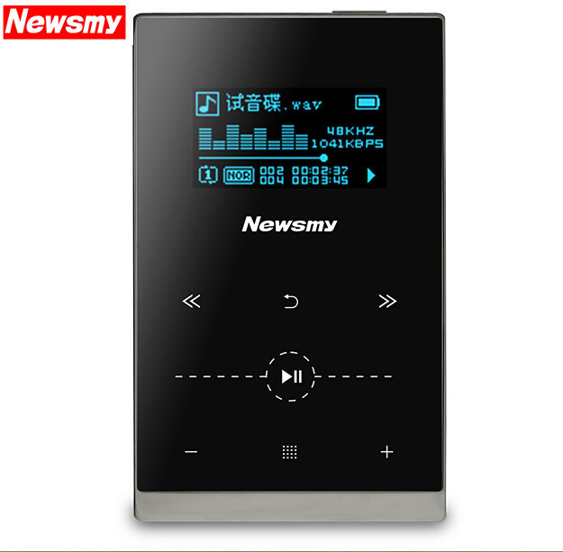 2015 New Newsmy G1 Hifi Music Player 8GB Mp3 Metal Portable Mp3 With Screen Support MP3 WMA APE FLAC WAV OGG AAC format(China (Mainland))