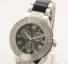 Famous Brand watch GSS watch Luxury Rhineston diamond women dress watch brand gold black silver women