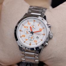 Curren hombres reloj de cuarzo reloj de hombre deportes relojes de silicona KJ394