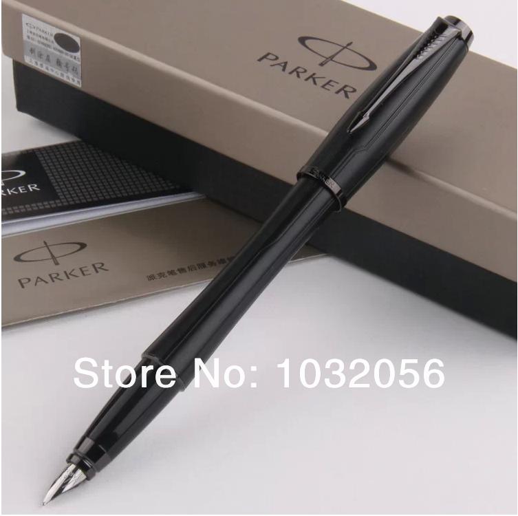 Unique Desigh-High Quality PARKER URBAN SERIES Black Plaid Fountain Pen Stationery Excutive Writing ink Pens HL125<br><br>Aliexpress