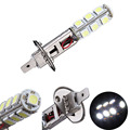 1X H1 5050 SMD 13 LED Auto Car LED Headlight Automobile Head Daytime Runing Light Driving