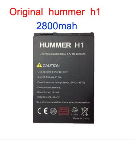 Original Hummer H1+ battery mobile phone battery h1+ 2800mah Free shipping