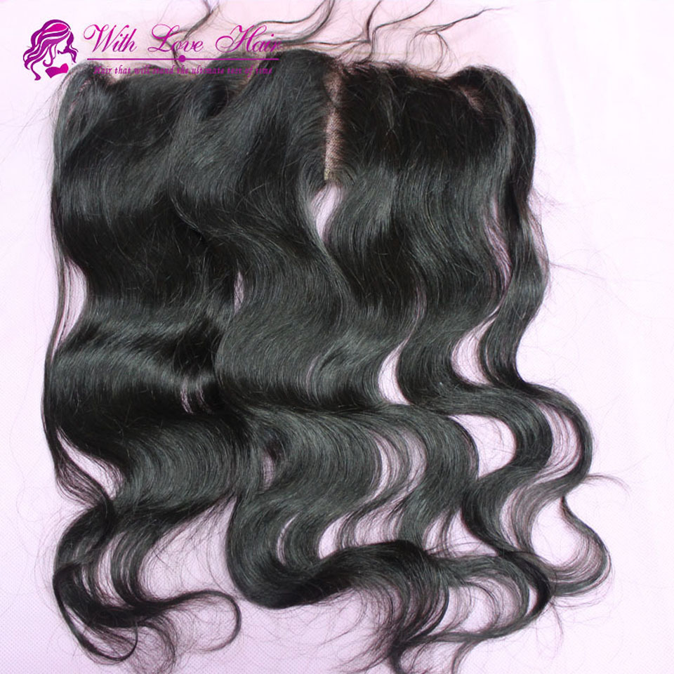 Free/Middle/Three part wholesale factory sale 10 12 14 16 18 20 instock full lace frontal closure malaysian human hair closure<br><br>Aliexpress