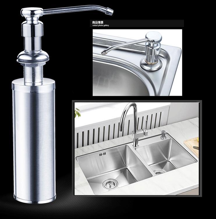 authentic high quality new kitchen soap dispenser sink liquid dispensers detergent bottle