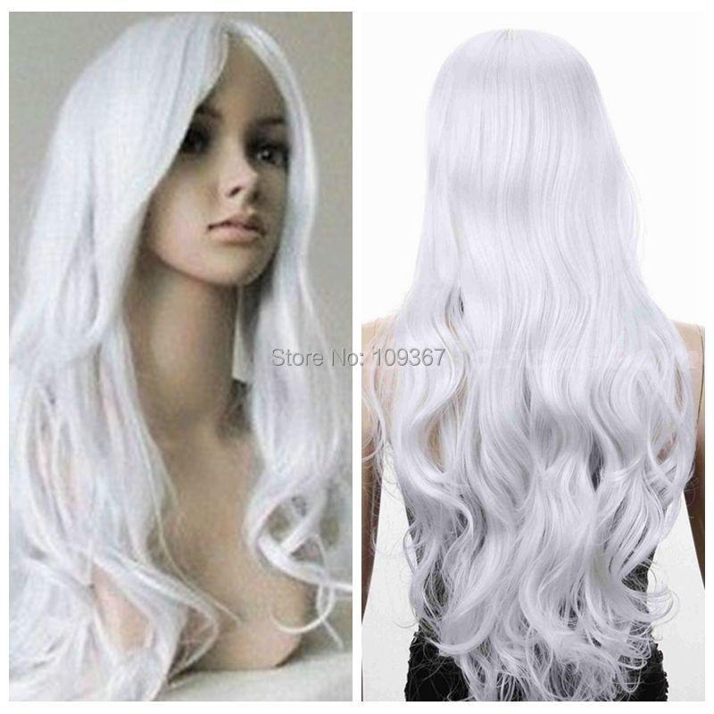 White Wig Hair 52