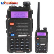 Black BaoFeng UV-5RS 128CH 2-Way VHF 136MHz-174MHz / UHF 400MHz-520MHz Radio
