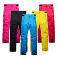 Free shipping new 2016 Men and Women Couples Germany waterproof ski pants womens high quality snowboard