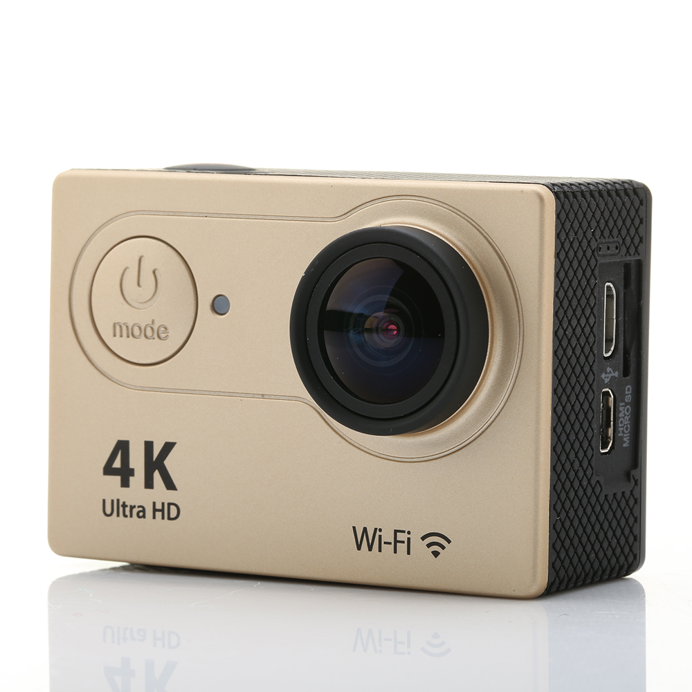 Mini Action Camera H9 Ultra HD 4K Video 170 Degrees Wide Angle Lens Sports Camera 2-inch Screen 1080P Full-HD 60fps Helmet Cam <br><br>Aliexpress
