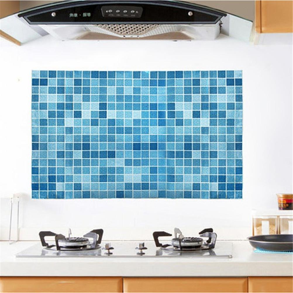 45 7cm pvc wall sticker bathroom waterproof self adhesive for Self adhesive bathroom wallpaper