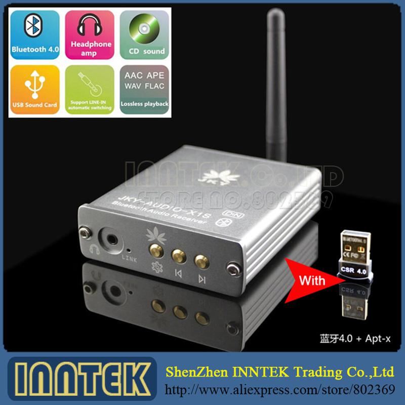item DSP Bluetooth  DAC Apt x Audio Decoder Receiver USB Sound Card HiFi Headphone