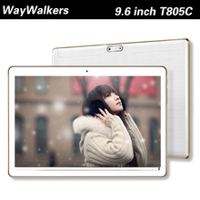 9.6 Inch Original 3G and 4G LTE phone tablet pc Android Octa Core Android tablet 5.1 4GB RAM 32B ROM GPS Tablet pcs 7 8 9 10(China (Mainland))