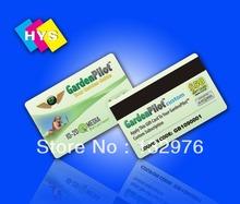 HiCo  Magnetic stripe Card Printing,Custom printing Hi-Co or Lo-Co Magnetic stripe cards(China (Mainland))