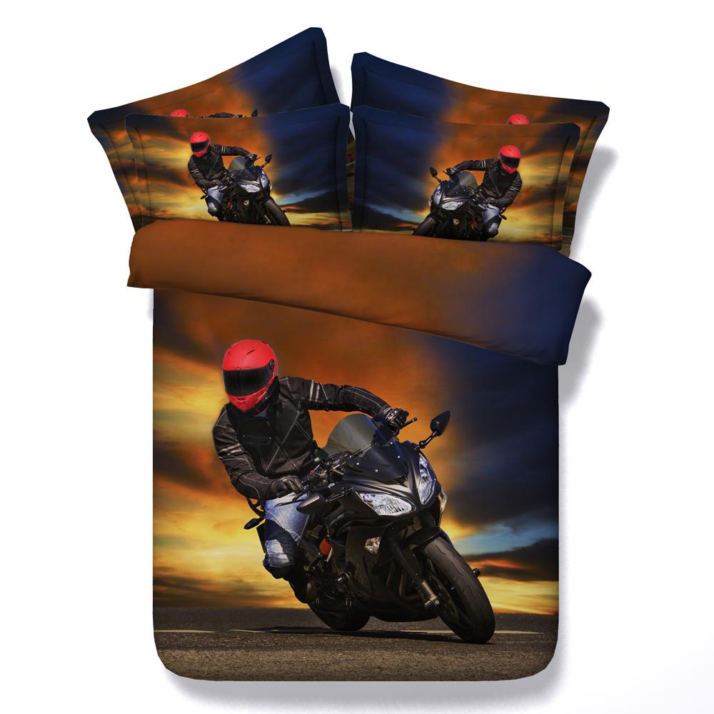 achetez en gros moto couette ensembles en ligne des grossistes moto couette ensembles chinois. Black Bedroom Furniture Sets. Home Design Ideas
