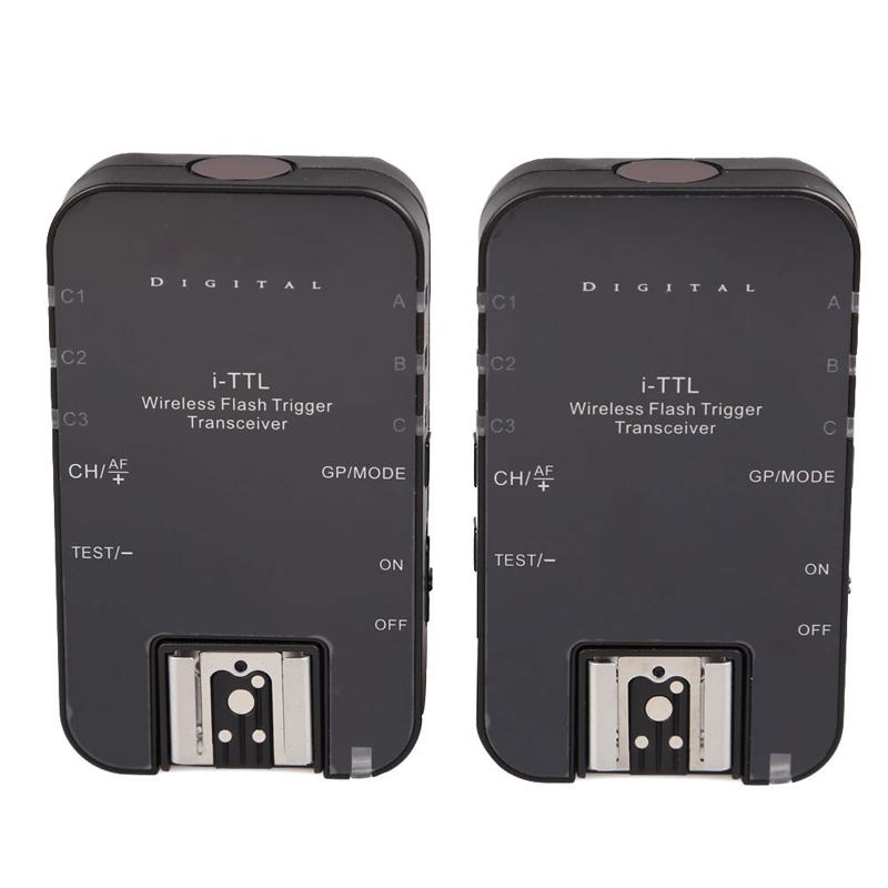 Фотография 2Pcs 1/8000s Wireless Flash Trigger Transceivers i-TTL Manual Flash Transceivers FOR Nikon Cameras OD#S