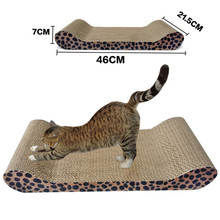 1PC New Cat Kitten Pet Scratcher Board With Catnip Sofa Scratcher Bed Lounge Toy s062-Q Free Shipping(China (Mainland))