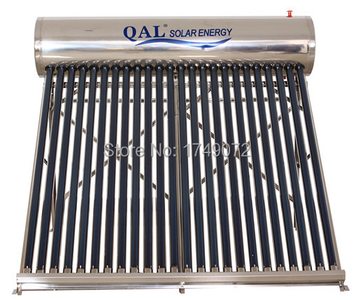 Unpressurized 24 evacuated tube solar collector water heater (BG-24)(China (Mainland))