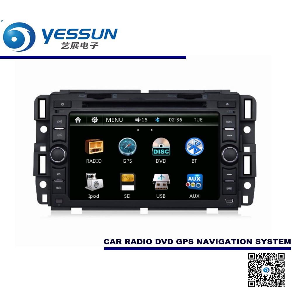 For chevrolet avalanche traverse express impala 2006 2013 car dvd player gps navigation audio video multimedia system