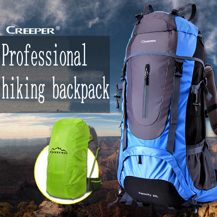 Brand Professional Climbing Bag Outdoor shoulder backpack men's travel bags waterproof hiking camping women sport bag 45L - jiajia Co., Ltd. store