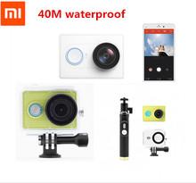 In stock Original Xiaomi Yi Action Sport Camera Xiaoyi Sport Camera Xiaomi Sport Camera 16MP 1920x1080p WIFI Bluetooth4.0 Sealed