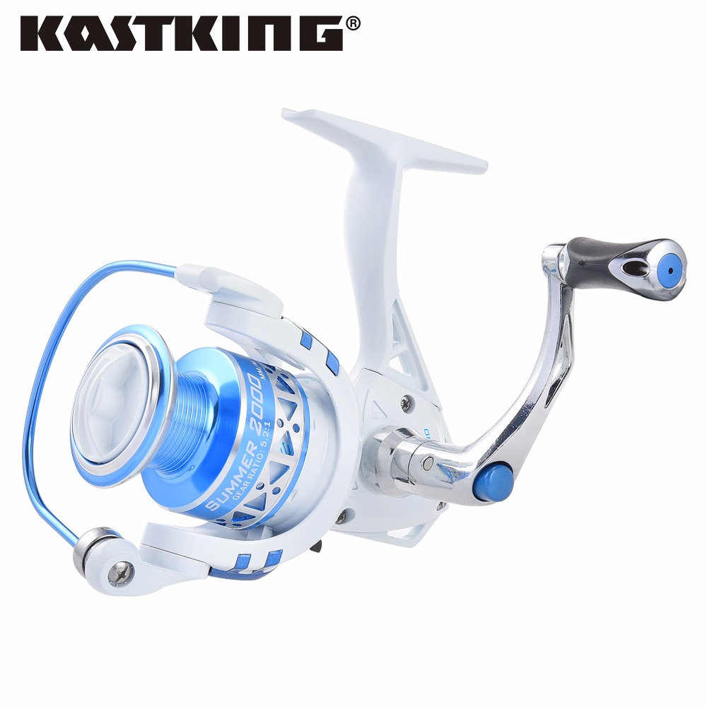 KastKing Summer 3000 Series 10 BBs 5.2:1 Spinning Reel Corrosion Resistant Big Game Open Face Carp Fishing Reel(China (Mainland))