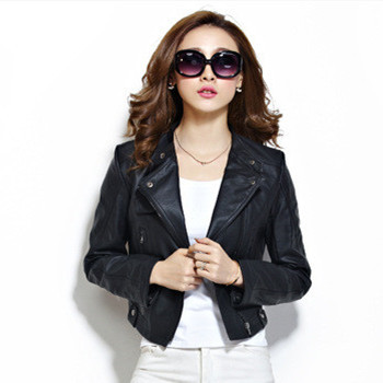 Girls Leather Jacket - Jacket