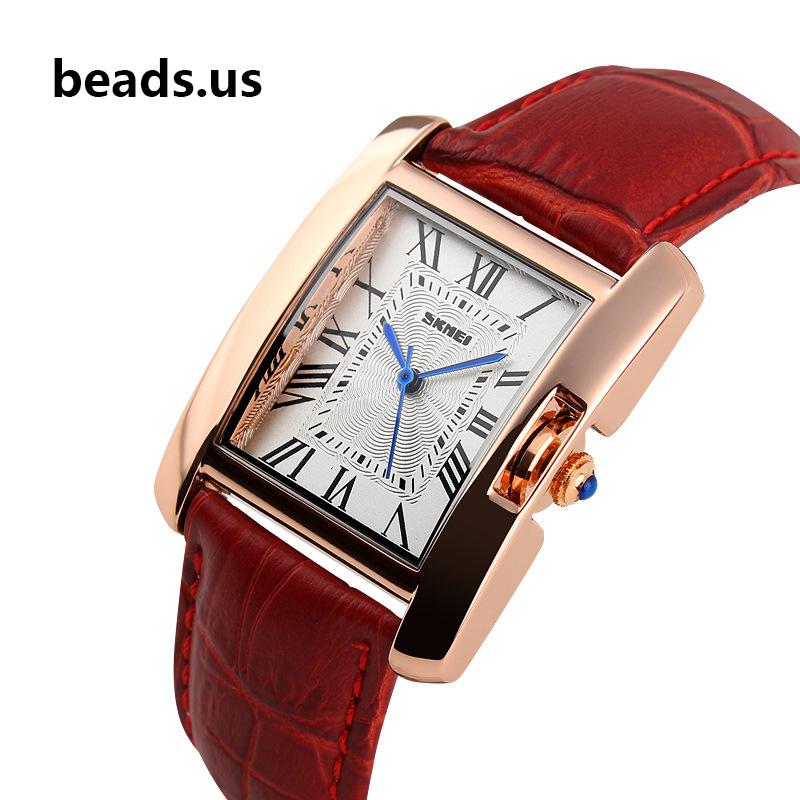 2015 Watches Women Luxury Brand Fashion Retro Waterproof  Leather Quartz Watch Women's Wrist Watches Relogio Feminino