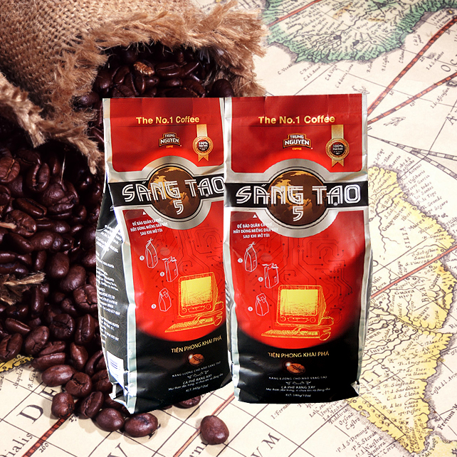 340g Trung Nguyen Creative 5 Robusta Culi Arabica Vietnam Ground Coffee