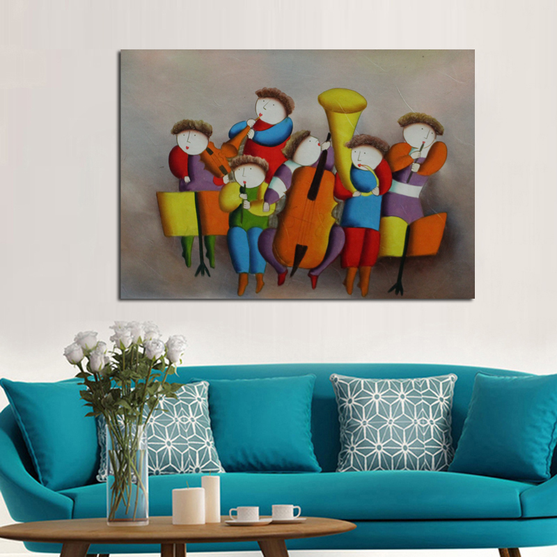 New Modern Design Decorative Oil Paintings Art Pictures