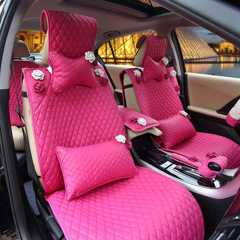 online kaufen gro handel blume gesetzt auto sitzbezug aus. Black Bedroom Furniture Sets. Home Design Ideas