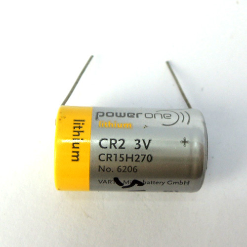 10pcs Original New Powerone CR2 CR15H270 3V Lithium PLC CNC Battery With Pins Free Shipping(China (Mainland))
