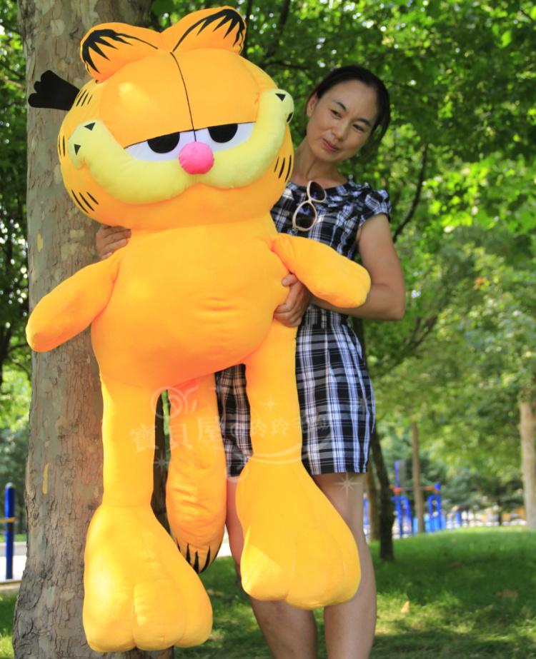 Plush toy doll Large 100cm garfield cat doll birthday gift t6349<br><br>Aliexpress