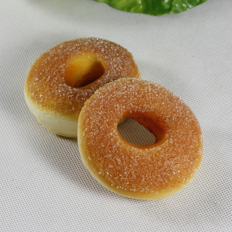 20pcs /lots Jumbo 10cm High artificial bread donuts props fake cake dessert mug-up model of the early learning toy(China (Mainland))