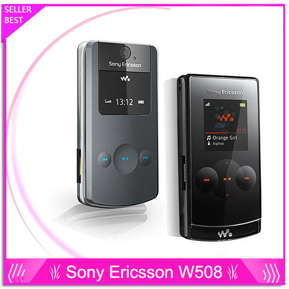 original Sony Ericsson w508 cell phones unlocked brand w508 mobile phones 3G HSDPA 2100 3.2MP bluetooth(China (Mainland))