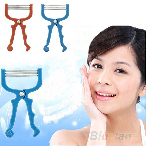 Handheld Facial Hair Removal Threading Beauty Epilator Tools 08LK - Fashion Topic store