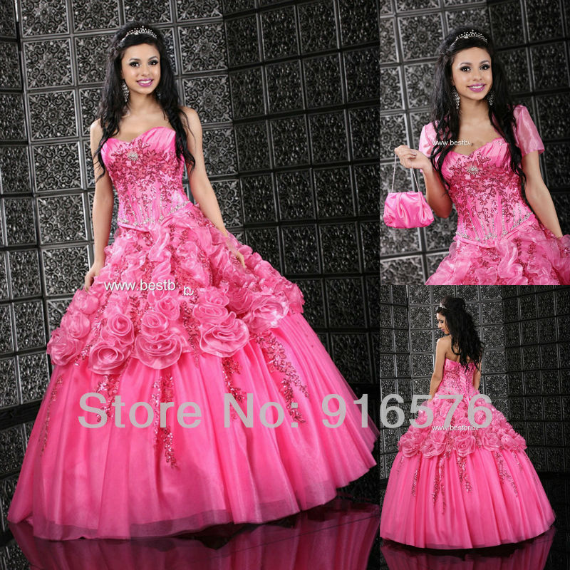 Big Pink Ball Gown Promotion-Shop for Promotional Big Pink Ball ...