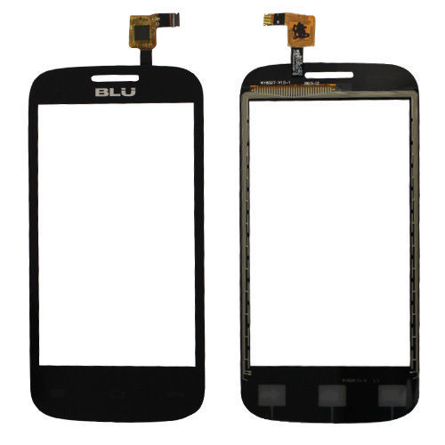 NEW FOR BLU DASH JR D140 BLACK ORIGINAL REPLACEMENT OEM TOUCH PANEL(China (Mainland))