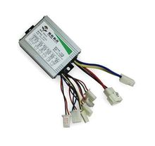 Hot!! DC 36V 350W motor brush controller for EV Electric Bikes bicycle Scooter Pedicab(China (Mainland))