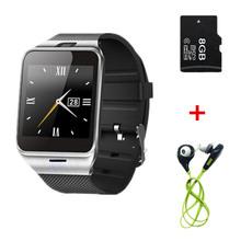 Aplus GV18 Reloj Inteligente Bluetooth Del Teléfono Smartwatch Teléfono NFC apoyo 1.3MP Cámara de Llamadas SMS para el iphone Samsung Android smartphones